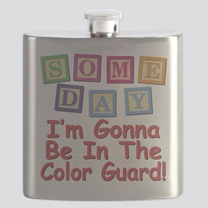 Someday Color Guard Flask