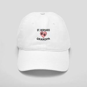 St. Bernard Grandpa Baseball Cap