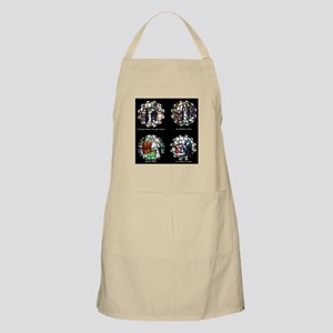 Benedictine Traditions in Stained Glass Apron