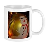 Frosted Snowman Ornament Mugs
