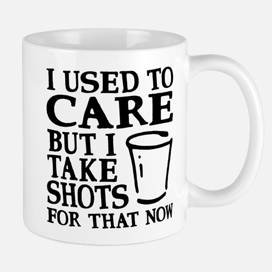 I Used To Care Mugs