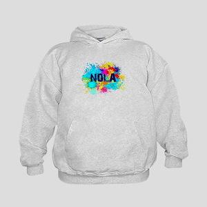 Good Vibes NOLA Burst Kids Hoodie