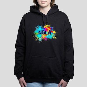 Good Vibes NOLA Burst Women's Hooded Sweatshirt