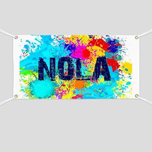 Good Vibes NOLA Burst Banner