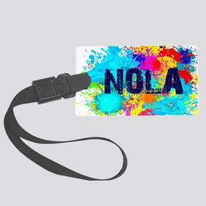 Good Vibes NOLA Burst Large Luggage Tag