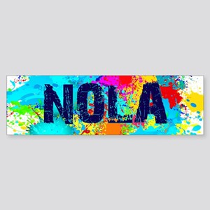 Good Vibes NOLA Burst Bumper Sticker