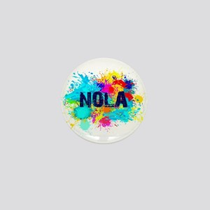 Good Vibes NOLA Burst Mini Button