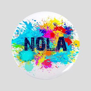 Good Vibes NOLA Burst Button