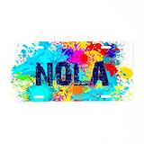 Nola License Plates