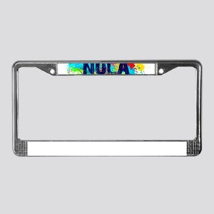 Good Vibes NOLA Burst License Plate Frame