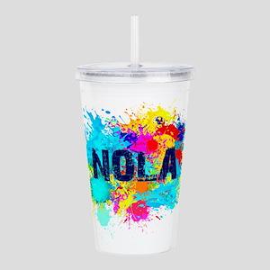 Good Vibes NOLA Burst Acrylic Double-wall Tumbler