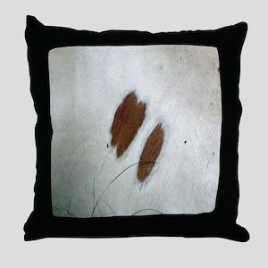 Cow Hide Throw Pillow