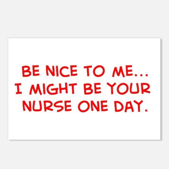 Unique Nurse kid Postcards (Package of 8)