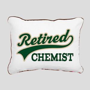Retired Chemist Rectangular Canvas Pillow