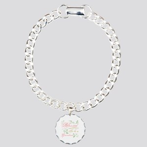 Blessed To Be A Grandma Charm Bracelet, One Charm