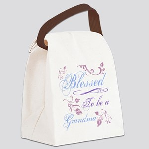 Blessed To Be A Grandma Canvas Lunch Bag