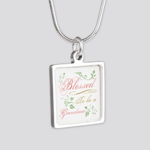 Blessed To Be A Grandma Necklaces