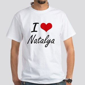 I Love Natalya artistic design T-Shirt