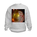 Frosted Snowman Ornament Sweatshirt