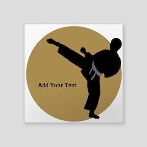 Karate Boy Sticker