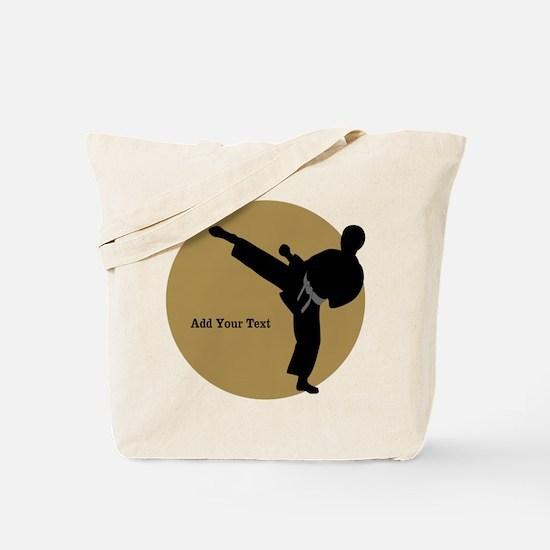 Karate Boy Tote Bag