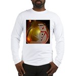 Frosted Snowman Ornament Long Sleeve T-Shirt