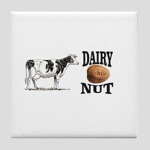 Dairy Nut Tile Coaster