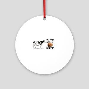 Dairy Nut Round Ornament