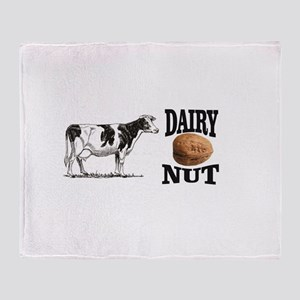 Dairy Nut Throw Blanket