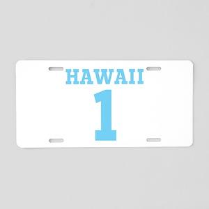 HAWAII #1 Aluminum License Plate