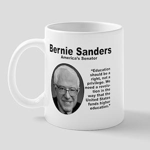 Sanders: Education Mug