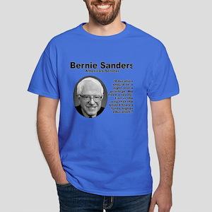 Sanders: Education Dark T-Shirt