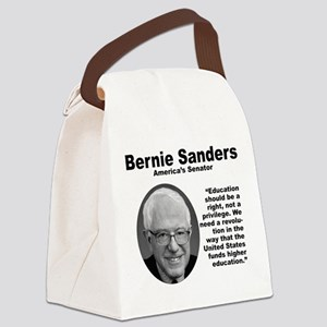 Sanders: Education Canvas Lunch Bag
