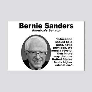 Sanders: Education Mini Poster Print