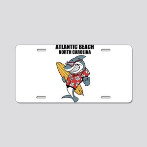 Atlantic Beach, North Carolina Aluminum License Pl