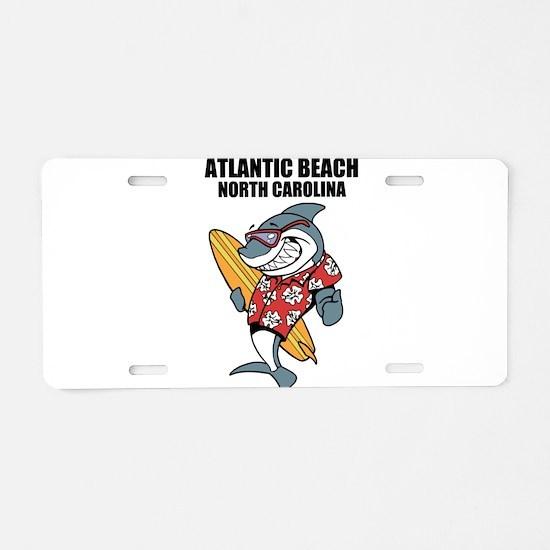 Atlantic Beach, North Carolina Aluminum License Pl