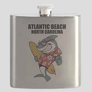 Atlantic Beach, North Carolina Flask