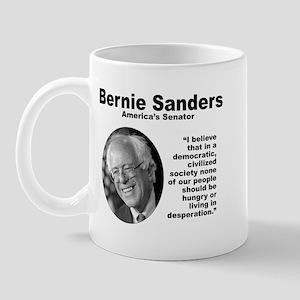Sanders: Civilized Mug