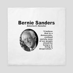 Sanders: Civilized Queen Duvet