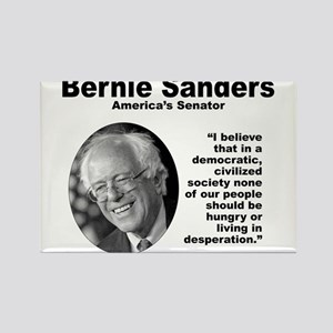 Sanders: Civilized Rectangle Magnet