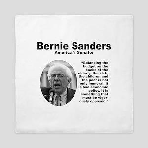 Sanders: Budget Queen Duvet