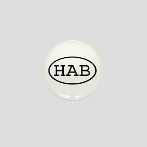 HAB Oval Mini Button
