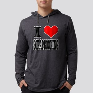 I Heart (Love) Scrapbooking Long Sleeve T-Shirt