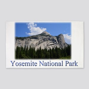 Landscape picture of Yosemite National Pa Area Rug