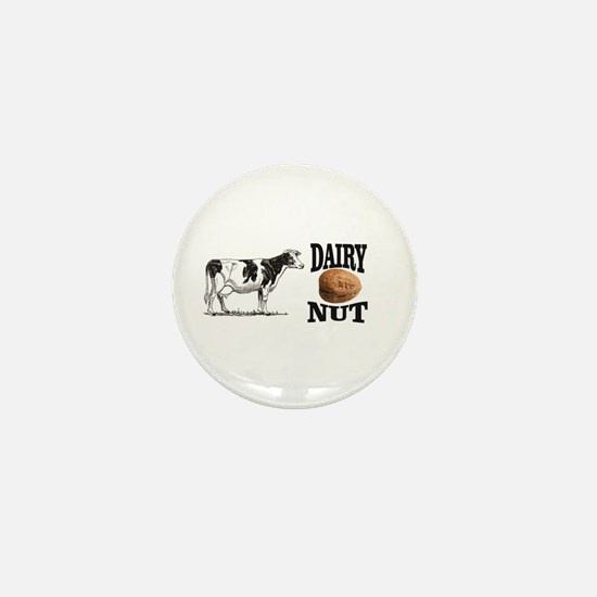 Dairy Nut Mini Button