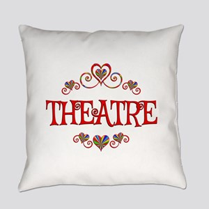 Theatre Hearts Everyday Pillow