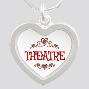 Theatre Hearts Silver Heart Necklace