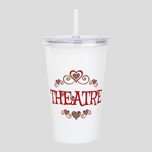 Theatre Hearts Acrylic Double-wall Tumbler