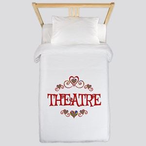 Theatre Hearts Twin Duvet