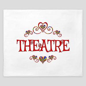 Theatre Hearts King Duvet
